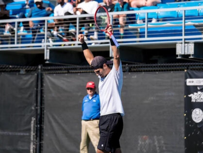 Marcos Giron, da UCLA con un coraggio senza limiti